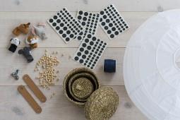 IKEA-hack luftballongslampa Regolit rislampa